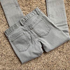Girls Gap Super Skinny Jeans - Grey